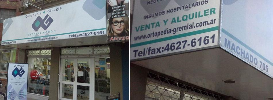 local de Ortopedia Gremial Moron